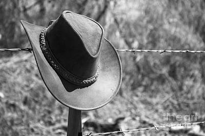 Photograph - Cowboy Hat by Imagery by Charly