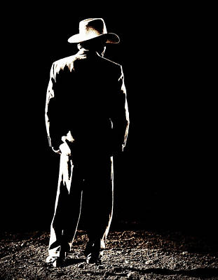 Photograph - Cowboy In A Continental Suit by Lincoln Rogers