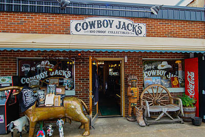 Photograph - Cowboy Jack's by Robert Hebert