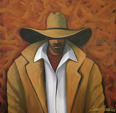 Painting - Cowboy  by Lance Headlee