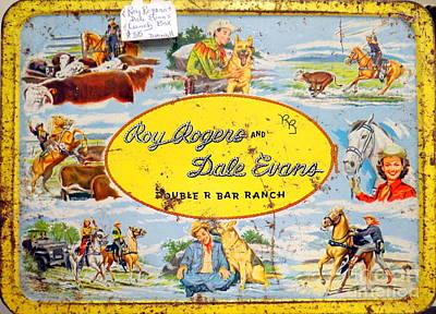 Cowboy Lunchbox Art Print