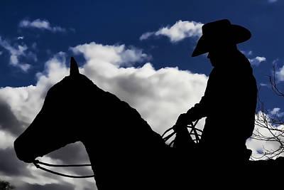 Photograph - Cowboy Nightrider by Athena Mckinzie