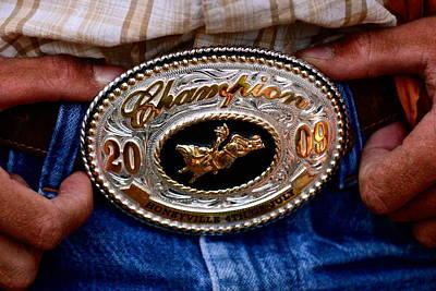 Working Cowboy Photograph - Cowboy Pride by Clyn Robinson