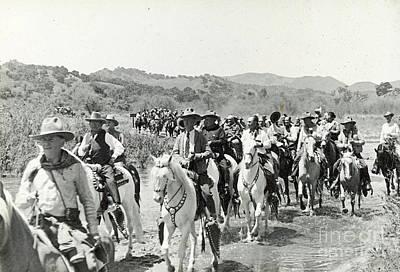 Photograph - Cowboy Ride 1935 by Patricia  Tierney