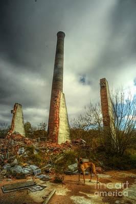 David Paul Photograph - Cowboy Ruins by David Paul