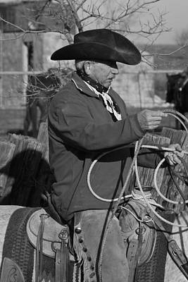 Photograph - Cowboy Signature 14 by Diane Bohna