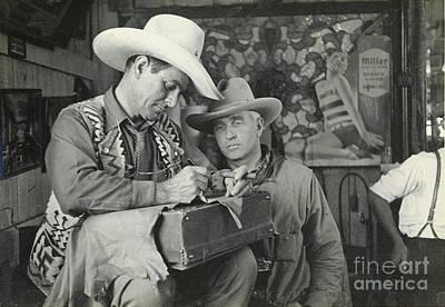 Photograph - Cowboy Signature 1935 by Patricia  Tierney