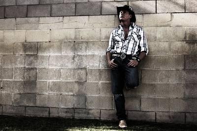 Canon Rebel T2i Photograph - Cowboy Singer Brian Shotwell by Carolina Liechtenstein