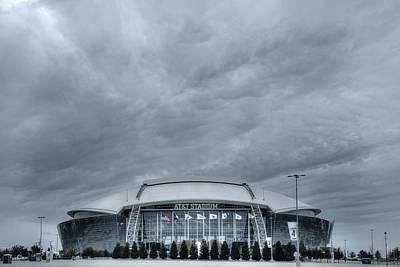 Cowboy Stadium Original by Joan Carroll