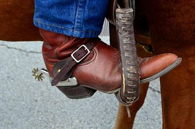 Photograph - Cowboy Swagg by Kelly Kitchens