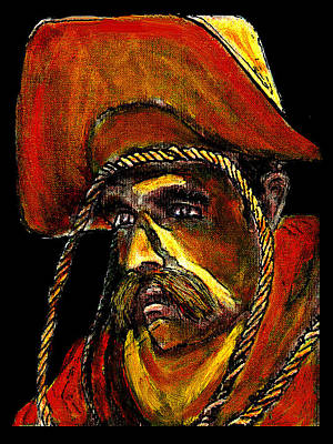 Digital Art - Cowboy With Rope Jgibney The Museum Zazzle Gifts by The MUSEUM Artist Series jGibney