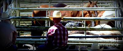 Photograph - Cowboys Corral by Susan Garren