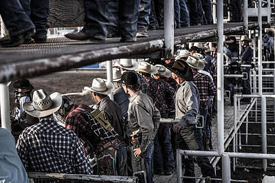 Photograph - Cowboys Cowboys Everywhere... by Amber Kresge