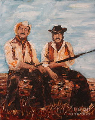 Cowboys Out To Play Original by Lee Ann Newsom