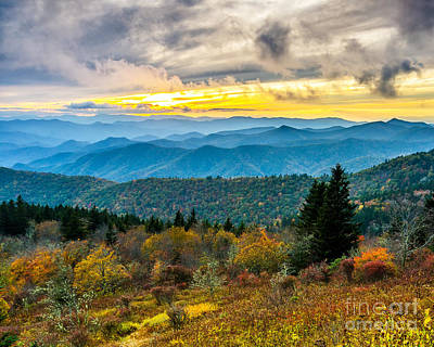 Photograph - Cowee Mountain Glory by Anthony Heflin