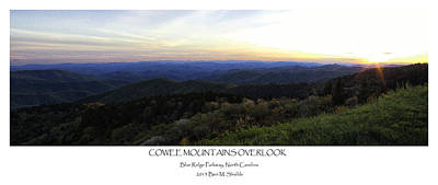 Photograph - Cowee Mountains Overlook by Ben Shields