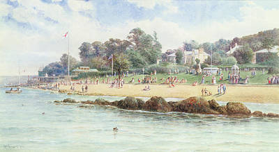 Summer Isles Painting - Cowes  Isle Of Wight by George Gregory