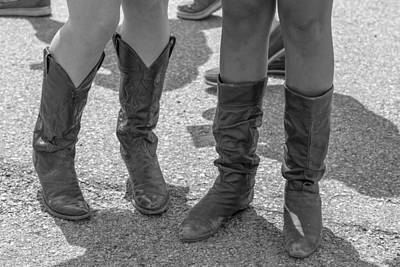 Photograph - Cowgirl Boots  by John McGraw