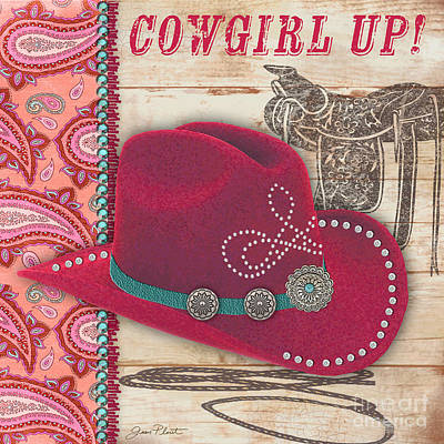 Cowgirl-jp2536 Original by Jean Plout