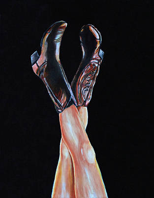 Cowgirl Legs Art Print by Jennifer Godshalk
