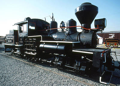 Photograph - Cowichan Valley Railway No 1 by Robert  Rodvik