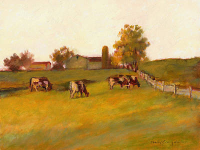 Cows2 Art Print by J Reifsnyder