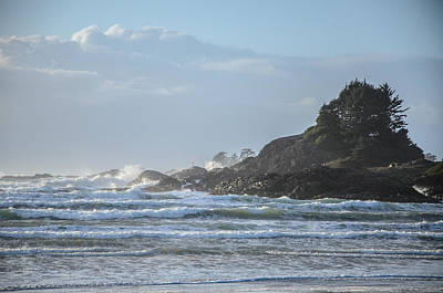 Photograph - Cox Bay Afternoon Waves by Roxy Hurtubise