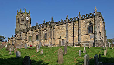 Pop Art Rights Managed Images - Coxwold Church Royalty-Free Image by John Topman
