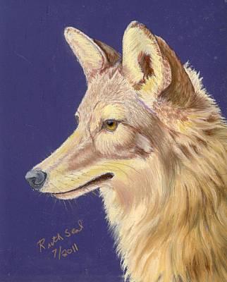 Coyote 2 Art Print