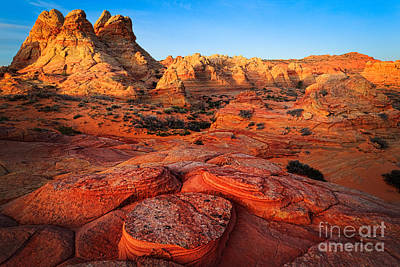 Coyote Buttes Art Print by Inge Johnsson