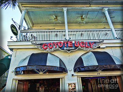 Photograph - Coyote Ugly Key West by Joan  Minchak