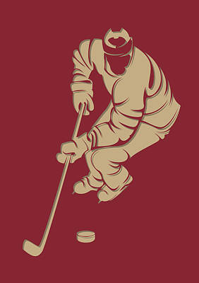 Coyotes Shadow Player3 Art Print