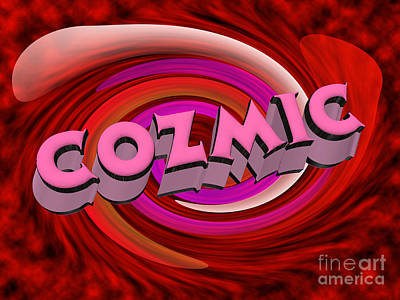 Allsorts Photograph - Cozmic by Rob Hawkins