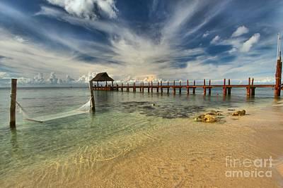 Photograph - Cozumel Beach Paradise by Adam Jewell