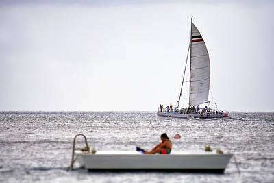 Photograph - Cozumel Catamaran by Jason Politte