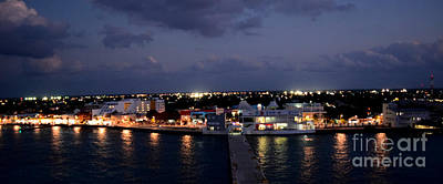 Photograph - Cozumel Skyline At The Harbor by Gary Smith