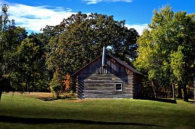 Photograph - Cozy Country Cabin by Tim McCullough