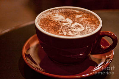 Photograph - Cozy Latte by Ana V Ramirez