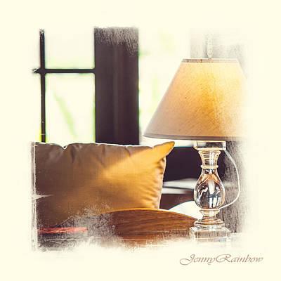 Photograph - Cozy Light. Elegant Knickknacks From Jennyrainbow by Jenny Rainbow