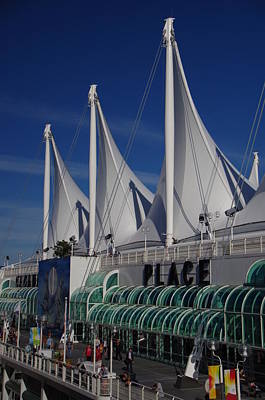 Photograph - Canada Place Pier - Vancouver Bc by Marilyn Wilson