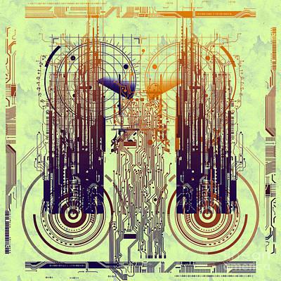 Processor Digital Art - Cpu I by Diuno Ashlee