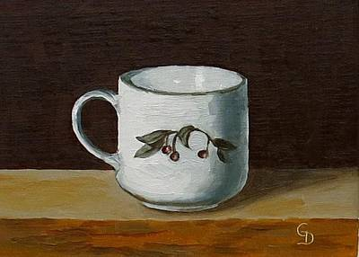 Painting - Crab Apple Cup by Grace Diehl
