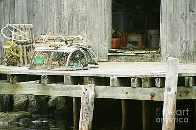 Photograph - Crab Dock by Frank Townsley
