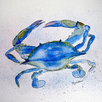 Painting - Crab  by Nancy Patterson