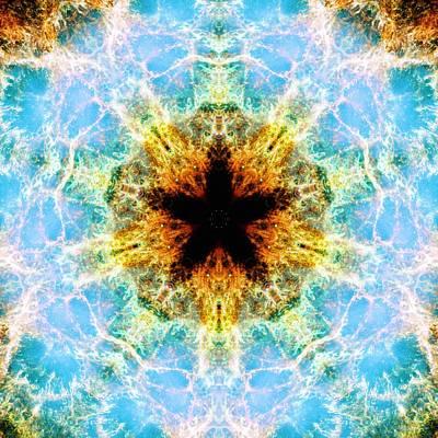 Photograph - Crab Nebula Iv by Derek Gedney