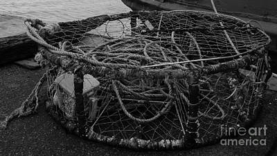 Photograph - Crab Pot by Chalet Roome-Rigdon