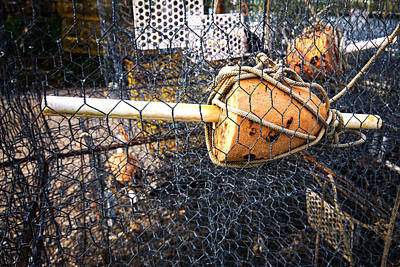 Photograph - Crab Pot Float by Bill Swartwout