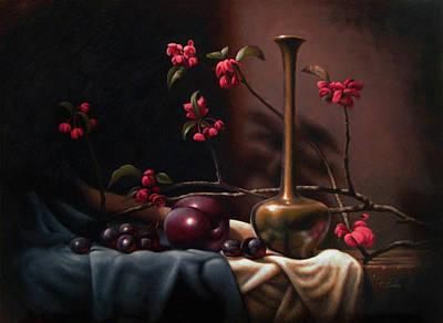 Crabapple Blossoms Art Print by Timothy Jones