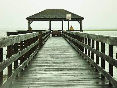 Photograph - Crabbing Pier by John Wartman