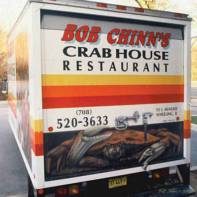 Crabhouse Truck Art Print by Bill Jonas